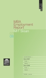 MBA   Employment  Report MIT Sloan 2007 and 2008