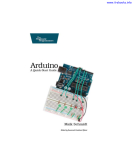 Arduino: A Quick-Start Guide
