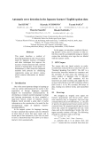 """Báo cáo khoa học: """"Automatic error detection in the Japanese learners' English spoken data"""""""