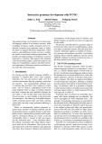 "Báo cáo khoa học: ""Interactive grammar development with WCDG"""