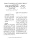 "Báo cáo khoa học: ""Transonics: A Practical Speech-to-Speech Translator for English-Farsi Medical Dialogues"""