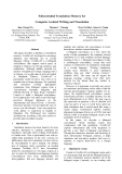 """Báo cáo khoa học: """"Subsentential Translation Memory for Computer Assisted Writing and Translation"""""""
