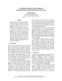 """Báo cáo khoa học: """"A Practical Solution to the Problem of Automatic Part-of-Speech Induction from Text"""""""