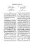 "Báo cáo khoa học: ""Probabilistic Parsing Strategies"""