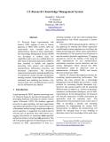 "Báo cáo khoa học: ""CL Research's Knowledge Management System"""
