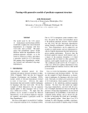 """Báo cáo khoa học: """"Parsing with generative models of predicate-argument structure"""""""