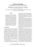 "Báo cáo khoa học: ""High Precision Treebanking — Blazing Useful Trees Using POS Information"""