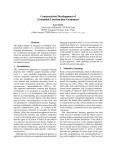 "Báo cáo khoa học: ""Constructivist Development of Grounded Construction Grammars"""
