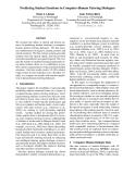 "Báo cáo khoa học: ""Predicting Student Emotions in Computer-Human Tutoring Dialogues"""
