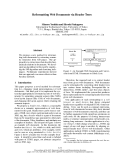 "Báo cáo khoa học: ""Reformatting Web Documents via Header Trees"""