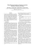 "Báo cáo khoa học: ""Minimal Recursion Semantics as Dominance Constraints: Translation, Evaluation, and Analysis"""