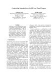 "Báo cáo khoa học: ""Constructing Semantic Space Models from Parsed Corpora"""