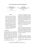 "Báo cáo khoa học: ""A corpus-based approach to topic in Danish dialog∗"""