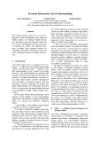 "Báo cáo khoa học: ""Towards Interactive Text Understanding"""
