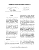 """Báo cáo khoa học: """"Semantic Role Labeling Using Different Syntactic Views∗"""""""