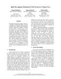 "Báo cáo khoa học: ""High Throughput Modularized NLP System for Clinical Text"""