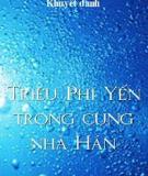 Triệu Phi Yến Trong Cung Nhà Hán