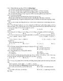 Đề Thi Thử Đại Học Hóa 2013 - Phần 7 - Đề 10