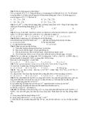 Đề Thi Thử Đại Học Hóa 2013 - Phần 7 - Đề 14