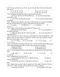 Đề Thi Thử Đại Học Hóa 2013 - Phần 7 - Đề 6