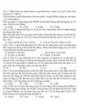 Đề Thi Thử Đại Học Hóa 2013 - Phần 7 - Đề 9