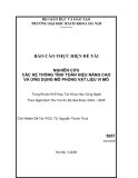 NGHIÊN CỨU CÁC HỆ THỐNG TÍNH TOÁN HIỆU NĂNG CAO VÀ ỨNG DỤNG MÔ PHỎNG VẬT LIỆU VI MÔ