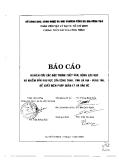 Nghiên cứu các đặc trưng thủy văn, động lực học và nhiễm bẩn khu vực cửa sông Dinh, tỉnh Bà Rịa- Vũng Tàu.Đề xuất biện pháp quản lý và bảo vệ