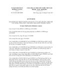 Quyết định số 26/2013/QĐ-UBND