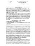 Báo cáo số 16/BC-BTP