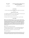 Quyết định số 327/QĐ-BTP
