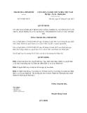 Quyết định số 39/QĐ-TTCP
