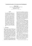 "Báo cáo khoa học: ""Computational properties of environment-based disambiguation"""