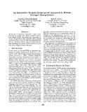 "Báo cáo khoa học: ""An Interactive Domain Independent Approach to Robust Dialogue Interpretation"""
