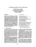 "Báo cáo khoa học: ""A Computational Model of Social Perlocutions"""