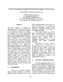 "Báo cáo khoa học: ""Possessive Pronominal Anaphor Resolution in Portuguese Written Texts"""