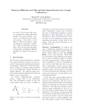 "Báo cáo khoa học: ""Memory-Efficient and Thread-Safe Quasi-Destructive Graph Unification"""