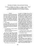 """Báo cáo khoa học: """"Charting the Depths of Robust Speech Parsing"""""""