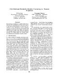 "Báo cáo khoa học: ""Distributional Similarity Models: Clustering Neighbors"""