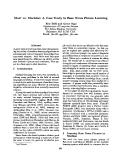 "Báo cáo khoa học: ""Man* vs. Machine: A Case Study in Base Noun Phrase Learning"""