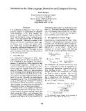 "Báo cáo khoa học: ""Memoisation for Glue Language Deduction and Categorial Parsing"""
