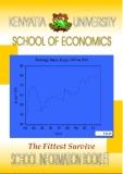 KENYATTA UNIVERSITY SCHOOL OF ECONOMICS
