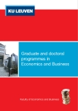 Graduate and doctoral programmes in Economics and Business