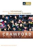 Master of   International & Developmental economics