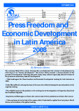 Press Freedom and Economic Development in Latin America 2008