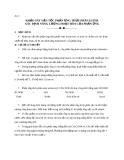 Bài 6: KHẢO SÁT VẬN TỐC PHẢN ỨNG THỦY PHÂN ESTER XÁC ĐỊNH NĂNG LƯỢNG HOẠT HÓA CỦA PHẢN ỨNG