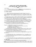 Bài 9: NGHIÊN CỨU CÂN BẰNG HẤP THỤ TRIỂN RANH GIỚI PHA RẮN – LỎNG TỪ DUNG DỊCH