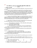 Bài 8: MỘT PHẢN ỨNG ĐIỆN HÓA