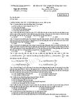 Đề Thi Thử Đại Học  Khối A Vật Lý 2013 Trường Thuận Thành - Lần 2