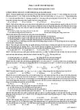 Đề Thi Thử Đại Học  Khối A Vật Lý 2013 - Đề  1