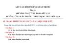 Kết cấu bê tông ứng suất trước-Bài 4: Tính toán theo TTGH